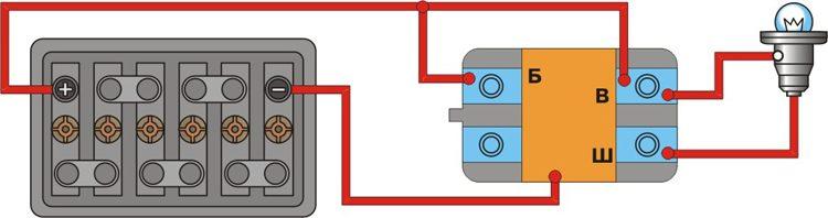 Схема проверки интегрального
